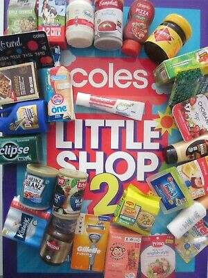 COLES LITTLE SHOP 2, 1 & STIKEEZ - FREE POSTAGE! Pick What You Need