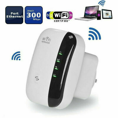 300Mbps Wireless Wifi AP Repeater Range Extender Router Booster Antennas Indoor