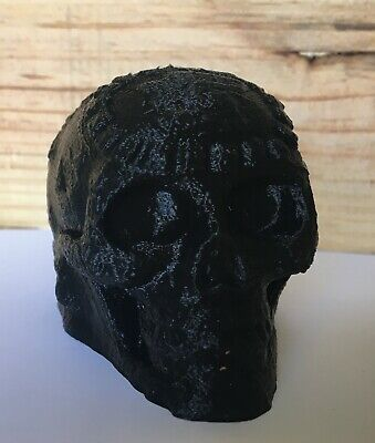 Aztec Mayan Death Whistle Skull - Screaming Whistle Black 3D Printed New