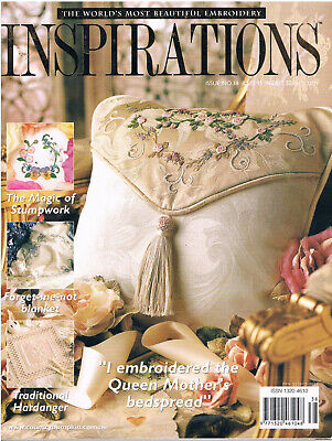 INSPIRATIONS MAGAZINE issue 38 RARE patterns attached