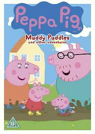 Peppa Pig:Muddy Puddles and Other Stories DVD (2007) Neville Astley-FREE POSTAGE