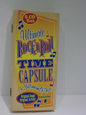Ultimate Rock 'n Roll Time Capsule: A Millennium of Hits Volume 1 6 CD Set