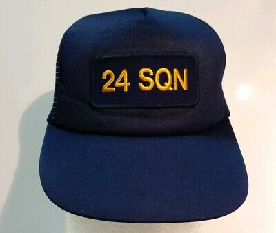 24 SQN RAAF Royal Australian Air Force Hat Vintage Retro Cap Edinburgh Squadron