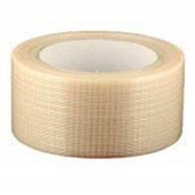 NEW 2 Roll Of STRONG CROSSWEAVE REINFORCED TAPE 50mm x 50M/ HIGH QUALITY