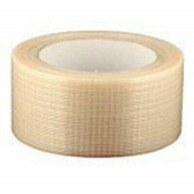 NEW 12 Roll Of STRONG CROSSWEAVE REINFORCED TAPE 50mm x 50M/ HIGH QUALITY