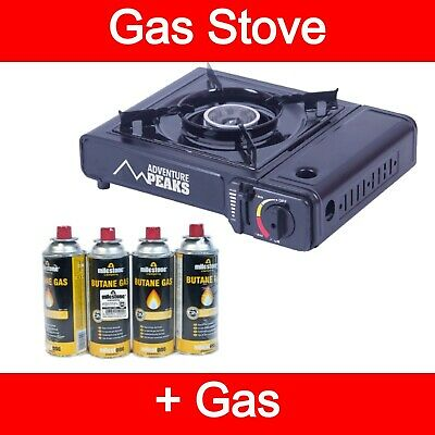 Portable Camping Gas Cooker Stove Single Burner Carry Bag Butane BBQ Outdoor