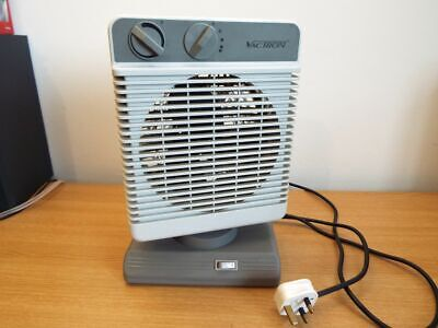 Vactron Oscillating 2000w vertical,variable speed fan heater Fully working