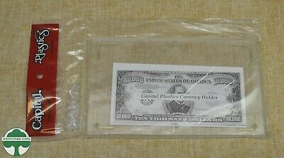 Capital Plastics Modern Currency Holder - Ch-1