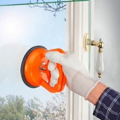 DS Sucker Lifting Glass Single with Handles and Locking Plexiglass Dfh