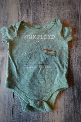 Pink Floyd Dark Side Of The Moon Baby Romper Onezies 6-24 Month