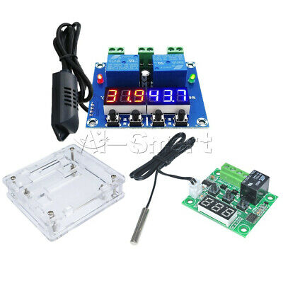 12V W1209 XH-M452 Digital LED Display Thermostat Temperature Humidity Controller