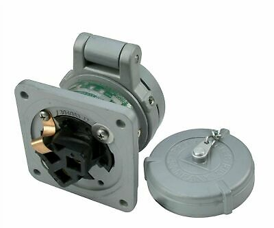 Appleton ADR3023 Aluminum 30 AMP Powertite Pin and Sleeve Receptacle 600V 3-Pole