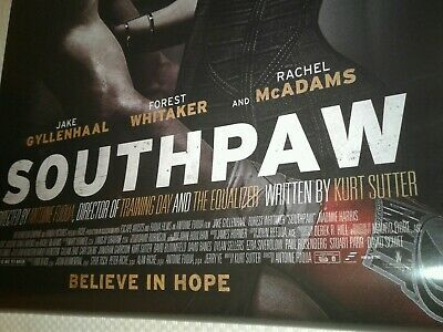Southpaw 27x40 DS Original Double Sided Movie Poster Jake Gyllanhaal Tech N9ne
