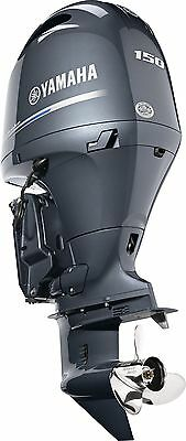 "New! model F150XB Yamaha 150hp Outboard 4 Stroke Outboard 25"" shaft PICK UP ONLY"