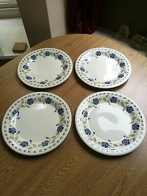 "Vintage BHS Hannah 4 x dinner plates 10.25""  excellent condition throughout"