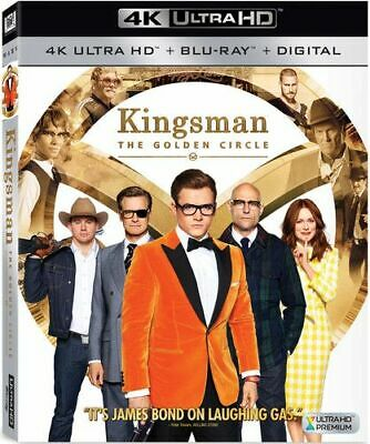 Kingsman: The Golden Circle New 4K Bluray
