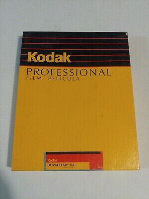 Kodak Duraclear RA Display Materials 8x10 old stock 50ct exp 7/96 sealed box