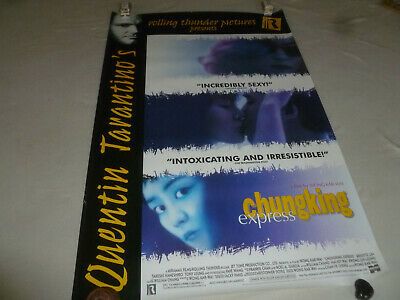 Vintage Movie Poster Quentin Tarantinos Chungking Express One Side Brigitte Lin
