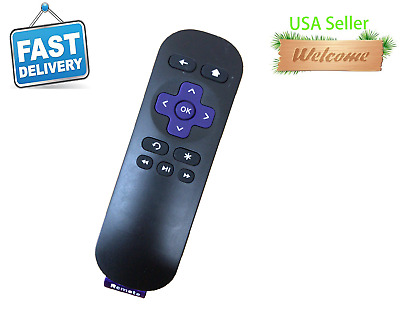 New Remote Replace for Roku IR Streaming Media Player Box 1/2/3/4 LT HD XD