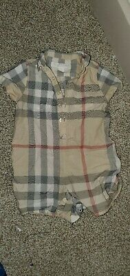Burberry toddler clothes