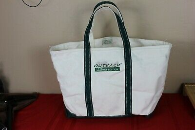 L.L, Bean Edition, Outback, Large Bag, Heavy Cotton, Boat & Tote