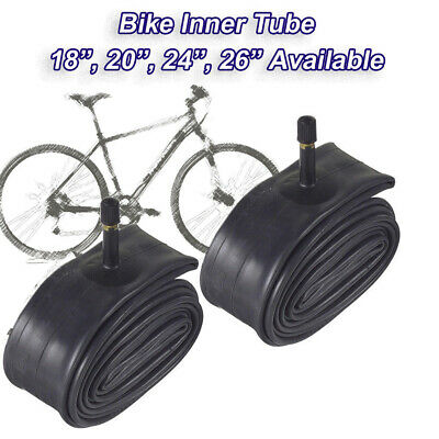 "2 x 26/"" inch Inner Bike Tube 26 x 1.75-2.125 Bicycle Rubber Tire Interior BMX"