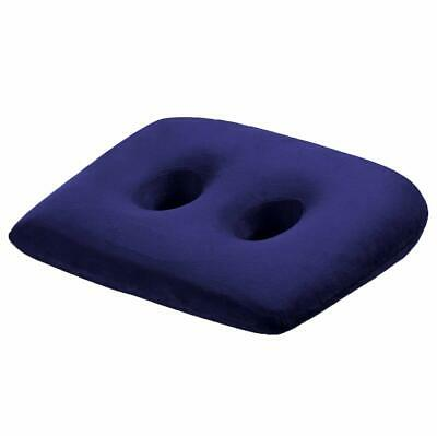 WER Ischial Tuberosity Seat Cushion with Two Holes for Sitting Bones-Washable