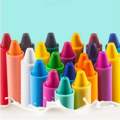 12pcs Baby Toddler Washable Bath Crayons Bath time Fun Educational Toy #New