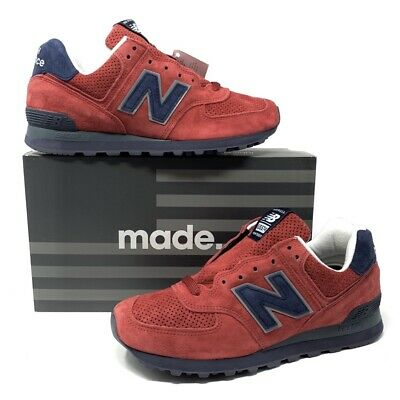 RARE NEW BALANCE US574XAD Made In USA Connoisseur Red Men's