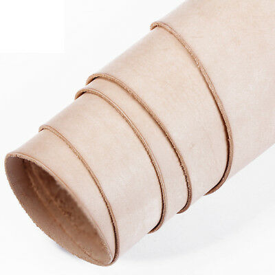 Veg Tanned Leather Natural Hide - Tooling Or Craft - Various Thickness & Sizes