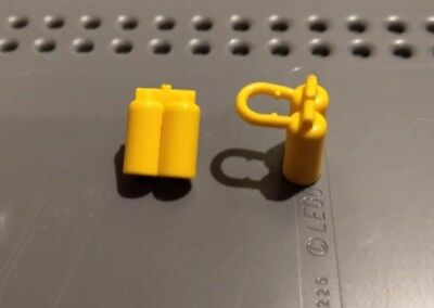 LEGO 3838 @@ Minifig Airtanks X 5 @@ YELLOW @@ JAUNE X 5