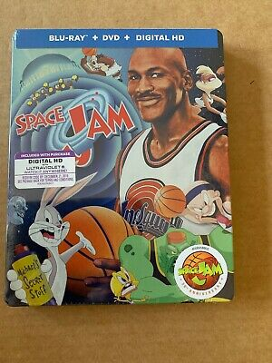 Space Jam Steelbook Blu Ray US Import Region Free New & Sealed Michael Jordan