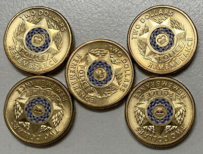 2019 $2 Police Remembrace Coin
