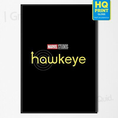 Marvel MCU Phase 4 Hawkeye TV Series 2021 Poster Print Art | A4 A3 A2 A1 |