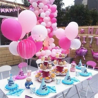 Balloon Accessory Base Table Support Holder Cup Stick Plastic Stand Party Decor