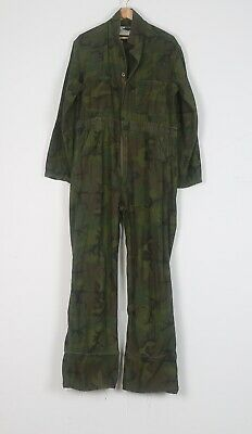 """Military Coveralls camo Camouflage Large 42"""" 44"""" Green (HBA)"""