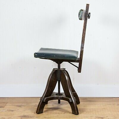 Vintage Tyzack Draughtsman's Chair - 1945 British Classic