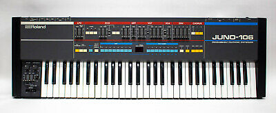 Roland Juno-106 61-Key Keyboard Analog Polyphonic Synthesizer - Vintage