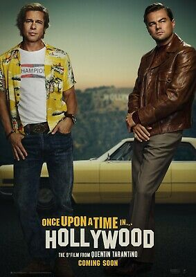 Once Upon A Time In... Hollywood Movie Poster -QUENTIN TARANTINO- (27x40)