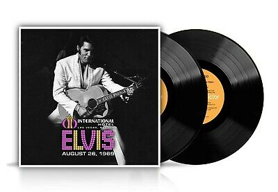 Elvis Presley; Live 26th August 1969 2 LP vinyl set (Sony) New & Sealed