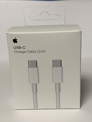 GENUINE Original Apple USB-C To USB-C Charge Cable 2m MLL82AM/A Model A1739 OEM