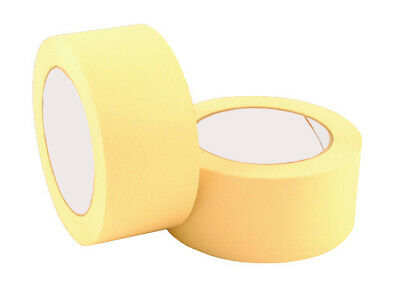 BRAND NEW 12 Rolls Of Masking Tape 50mm x 50M Strong Painting Tape /HIGH QUALITY