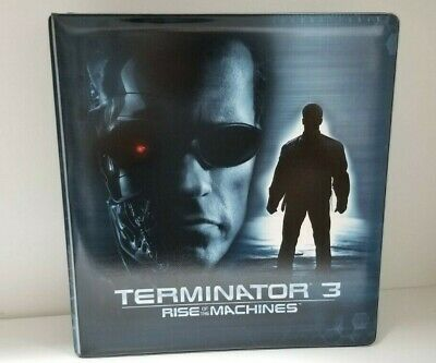 Terminator 3 Rise of the Machines Collectible Trading Card Binder Album