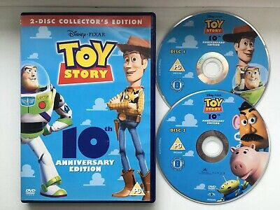 Toy Story (DVD, 2005) 10th Anniversary Special Edition