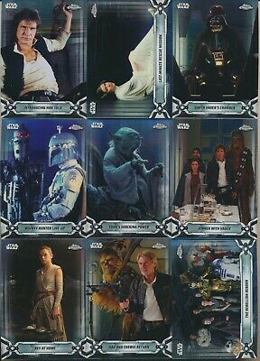 2019 Topps STAR WARS CHROME LEGACY card (1-200) Pick From List