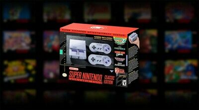 Genuine Nintendo SNES Classic Super NES HACKED PRO MODDED
