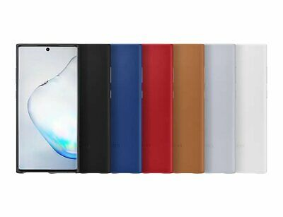 Samsung Official OEM Galaxy Note10 /10+ Leather Back Cover NEW