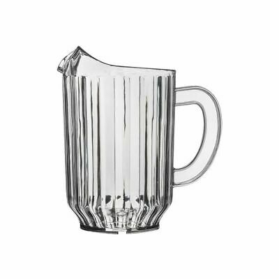 12x Water Jug 1.8 Litre Clear Pitcher High Quality SAN Plastic Beer Soft Drink