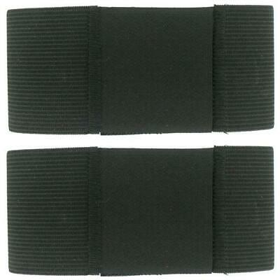 Genuine U.s. Armed Forces Boot Bands: Better Trouser Blousers - Black