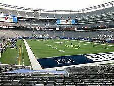 NY Giants vs Vikings at Met Life 10/6/19-2 Tickets & Parking-LOWER LEVEL